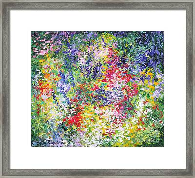 Blossom In Lilac Framed Print