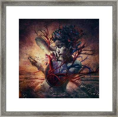 Blossom Framed Print by Mario Sanchez Nevado