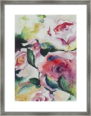 Blossom Parade Framed Print