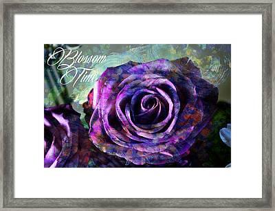 Blossom Time Framed Print