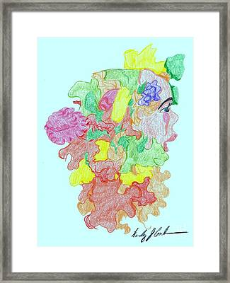 Blossom Framed Print by Wendy Coulson