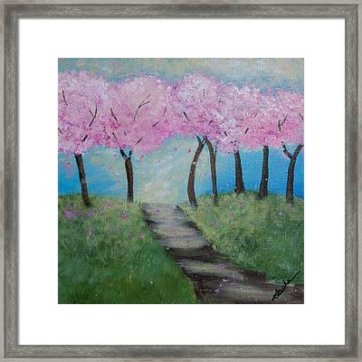 Blossoming Framed Print by Sasha Moye