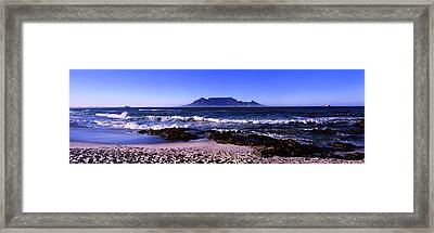 Blouberg Beach, Cape Town, Western Cape Framed Print by Panoramic Images