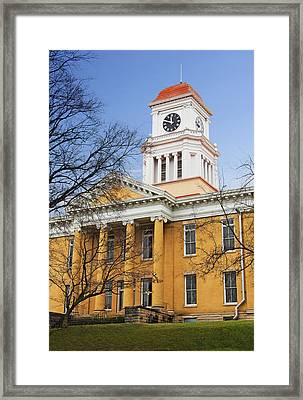 Blount County Courthouse Framed Print