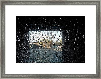 The Light Opens Before Me Framed Print