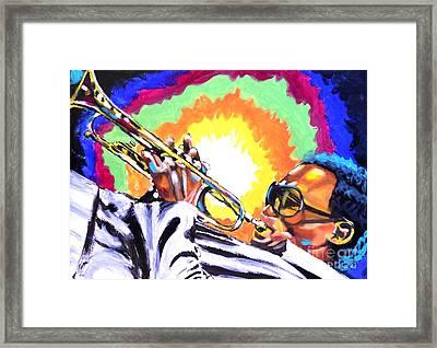 Blow Framed Print by Jonathan Tyson