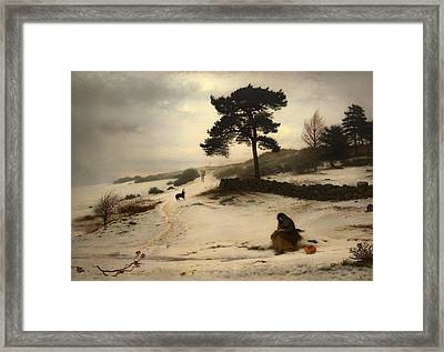 Blow Thou Winter Wind Framed Print