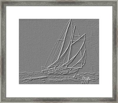 Blowin Framed Print by Dusty Reed