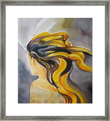 Blowin' In The Wind Framed Print by Patricia Howitt
