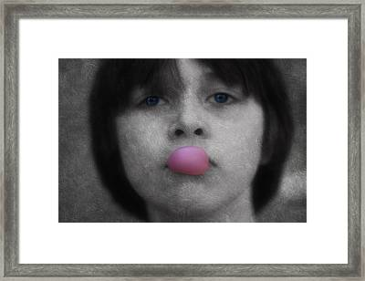 Blowing Bubbles Framed Print by Melanie Lankford Photography