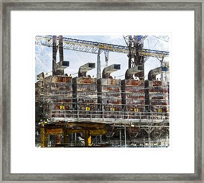 Blowing Horns Framed Print