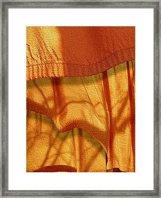 Blowing In The Wind Framed Print by Paul Wear