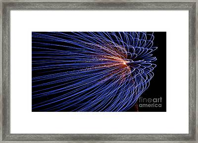 Blowing In The Wind Framed Print by Torbjorn Swenelius