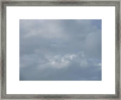 Blowing Smoke Framed Print