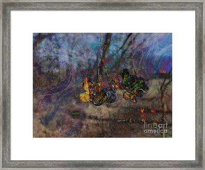 Framed Print featuring the photograph Blowin'in The Wind by Kathie Chicoine