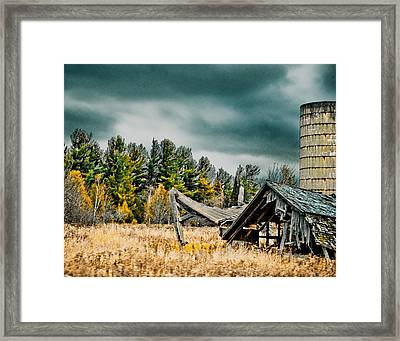 Blown Away Framed Print by Maggy Marsh