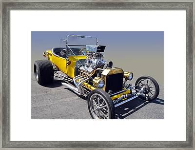 Blown Ford T Framed Print by Bill Dutting