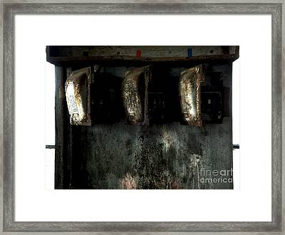 Blown Fuses Framed Print by James Aiken
