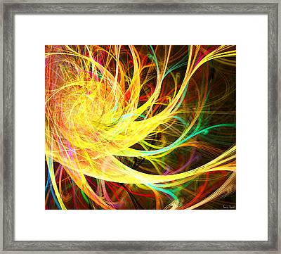 Blown Memoirs Framed Print by Lourry Legarde