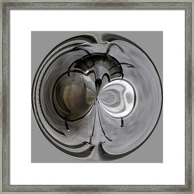 Blown Out Filament Framed Print