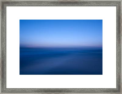 Blue #1 Framed Print by Catherine Lau