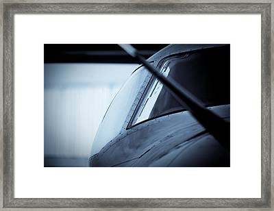 Blue 12 Framed Print by Paul Job