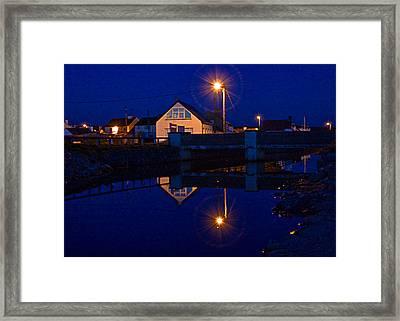 Blue 4 U Framed Print by Tony Reddington