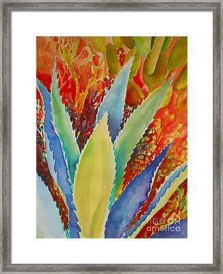 Blue Agave Framed Print by Summer Celeste