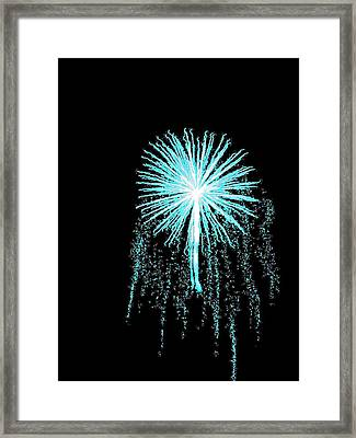 Blue Angel Framed Print by Katie Beougher