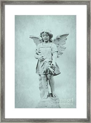 Blue Angel Framed Print by Sophie Vigneault