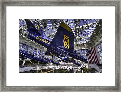 Blue Angels 2 Framed Print