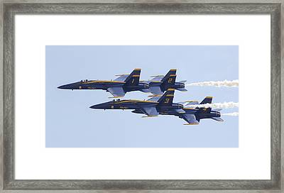 Blue Angels 20 Framed Print
