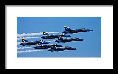 A-18 Hornet Framed Prints