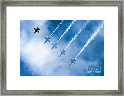 Blue Angels Framed Print
