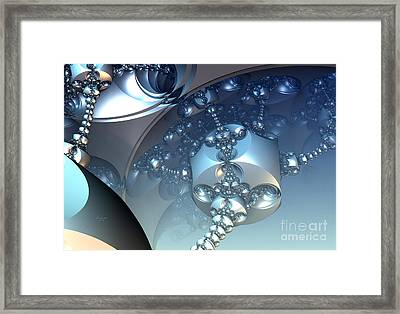Blue Appendages Framed Print