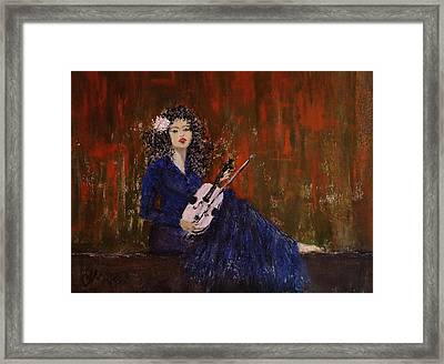 Blue Ballad... Framed Print