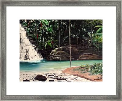 Blue Basin Framed Print by Karin  Dawn Kelshall- Best