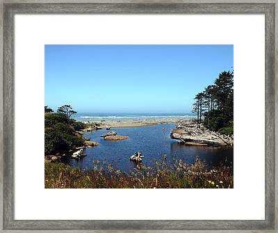 Blue Bayou Framed Print by SEA Art