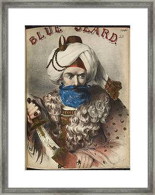 Blue Beard Framed Print by British Library