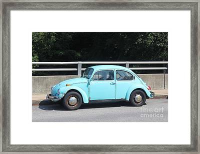 Blue Beetle Framed Print by Lotus