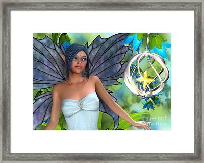 Blue Bell Magic Framed Print
