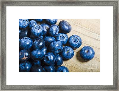 Blue Berries  Framed Print by Jorgo Photography - Wall Art Gallery