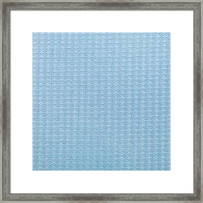 Blue Blanket Framed Print by Tom Gowanlock
