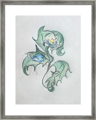 Blue Blossom 2 Framed Print