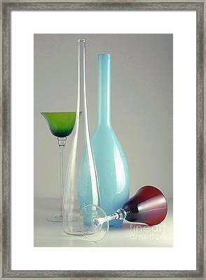 Blue Bottle #2 Framed Print
