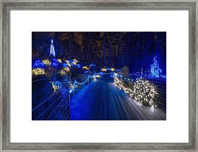 Plank Bridge Framed Print