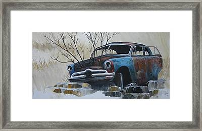 Blue Bullet Framed Print by Gregory Peters