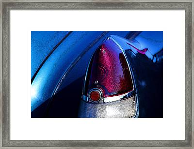 Blue Caddy Dreams Framed Print