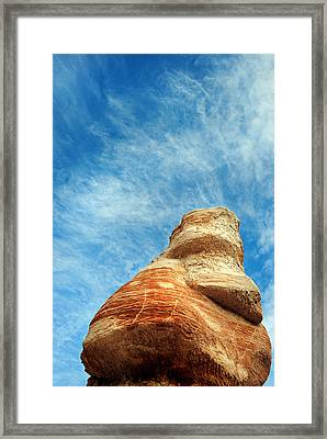 Blue Canyon 65 Framed Print