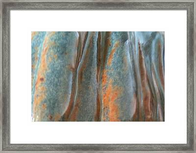 Blue Canyon Framed Print by Jillian ODwyer